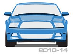 2010-2014 Mustang Scuff Plates