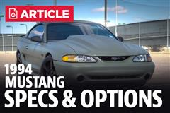 1994 Ford Mustang Specs