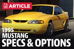 1995 Ford Mustang Specs