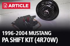 1996-2004 Mustang PA Shift Kit (4R70W)