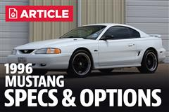 1996 Ford Mustang Specs