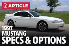 1997 Ford Mustang Specs