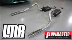 1999-2004 Mustang Flowmaster American Thunder Catback Exhaust