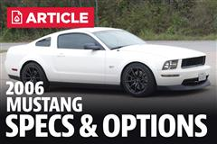 2006 Ford Mustang Specs
