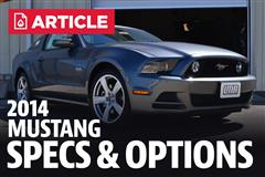 2014 Ford Mustang Specs