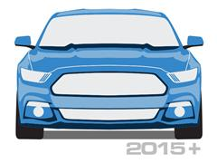 2015-2016 Mustang Quarter Panel Scoops