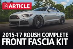 2015-17  Mustang Roush Complete Front Fascia Kit
