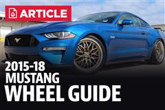 2015-18 Mustang Wheel & Tire Guide