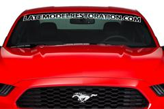 2015-2017 Mustang Windshield Decals