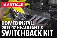 Mustang 6000K Headlight & Switchback Conversion Kit (2015- Present)