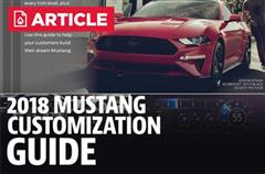 2018 Mustang Customization Guide