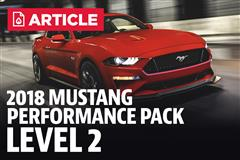 2018 Mustang Performance Pack Level 2