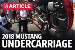 2018 Mustang Undercarriage Pics