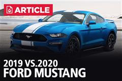 2019 Vs 2020 | Ford Mustang