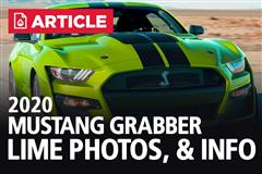 2020 Mustang Grabber Lime Photos, Paint Codes, & Info