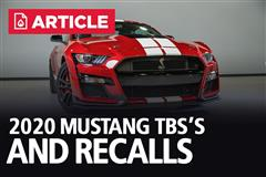2020 Mustang TSB's and Recalls
