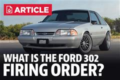 What Is The 302 Firing Order?
