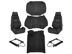 1979-1993 Fox Body Mustang Black Interior Kits