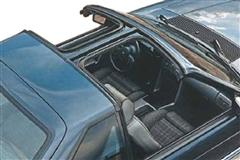 1984 Mustang T-Top & Sunroof Components