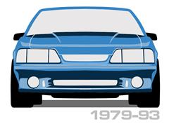 1979-1993 Fox Body Mustang Wheels