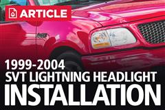 How To Install Ford Lightning Headlights (99-04)