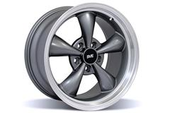 Anthracite Gray Bullitt Mustang Wheels