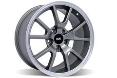 Anthracite Gray FR500 Mustang Wheels