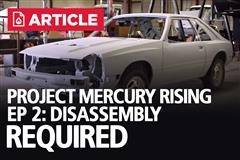 Project Mercury Rising EP: 2 - Disassembly Required | ASC McLaren Restoration
