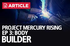 Project Mercury Rising EP: 3 - Body Builder | ASC McLaren Restoration
