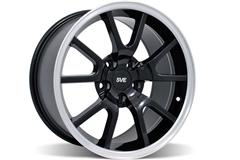 Black FR500 Mustang Wheels