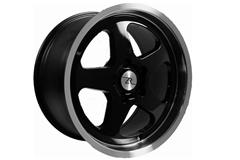 Black Saleen SC Style Mustang Wheels