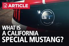What Is A California Special Mustang? - Horsepower, Specs, & Colors
