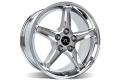 Chrome 95 Cobra R Mustang Wheels