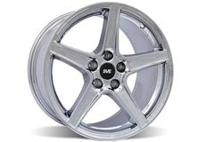 Chrome Saleen Style Mustang Wheels