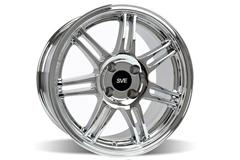 Chrome 10th Anniversary Mustang Wheels