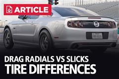 Drag Radials Vs Slicks | Tire Differences