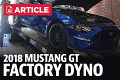 First 2018 Mustang GT Dyno Numbers