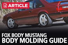 Fox Body Mustang Body Molding Guide | 79-93 Mustang