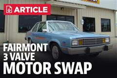 Fox Body Fairmont 3V Motor Swap (4.6L Mustang Engine)
