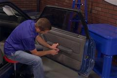 Fox Body Mustang Door Panel Removal Video