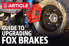 Fox Body Brake Guide