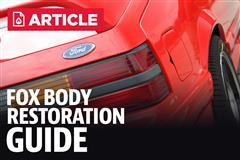 Fox Body Restoration Guide