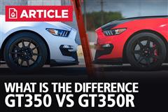 GT350 VS GT350R | Specs, Differences, & Horsepower