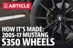 GT350 Wheels For Your Mustang