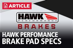 Which HAWK Performance Brake Pad Is Best For Your Mustang?