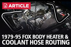 Heater Hose And Coolant Hose Routing (1979-1995)
