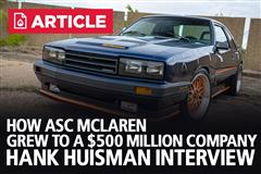 How ASC McLaren Grew To A $500 Million Company - The Hank Huisman Interview