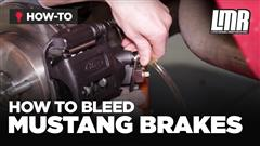 How To Bleed Mustang Brakes