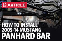 How to Install a Panhard Bar on your 2005-2014