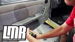 How To: Install Fox Body Armrest Door Pad